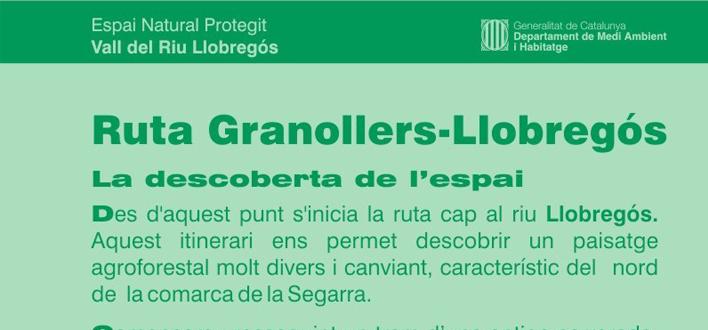 La ruta de la Vall del Riu Llobregós als Aiguamolls de Granollers de Segarra