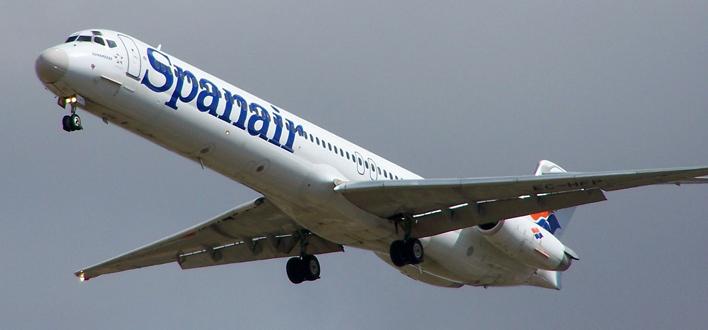 Spanair también podría aterrizar en el aeropuerto de Lleida-Alguaire