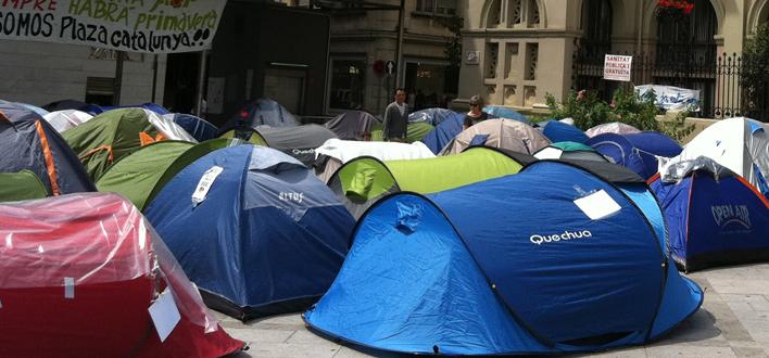El Turismo se puede ver afectado por la actitud de los indignados en Barcelona
